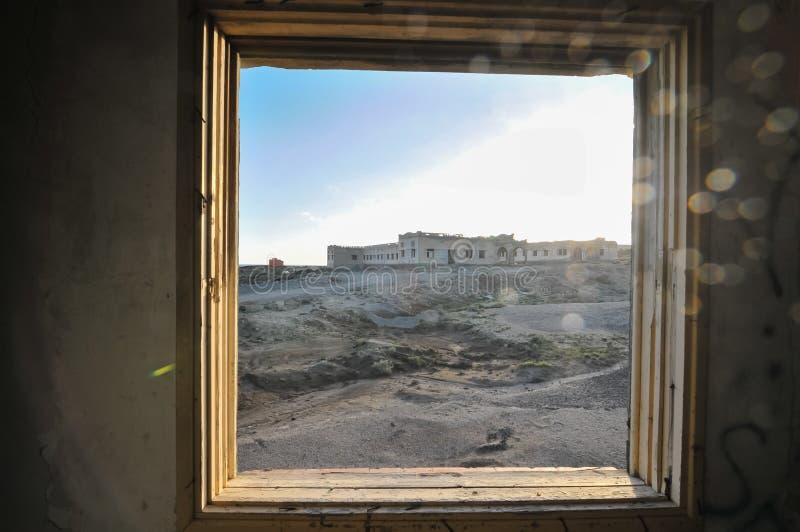 Verlaten gebouwen royalty-vrije stock fotografie