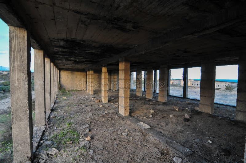 Verlaten gebouwen royalty-vrije stock foto