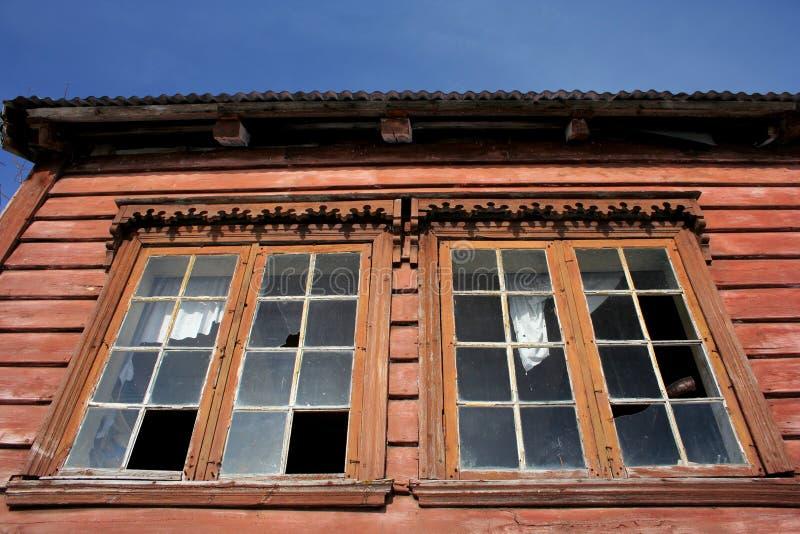 Verlaten huis royalty-vrije stock afbeeldingen