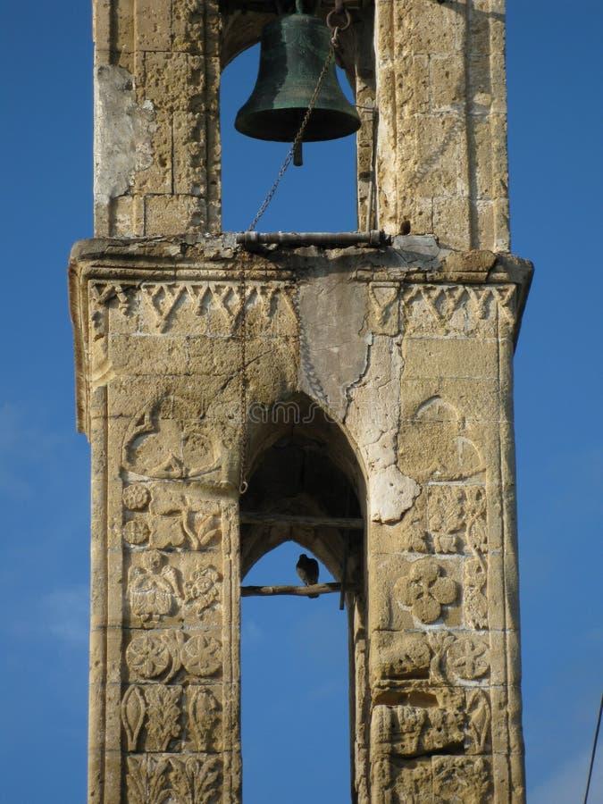 Verlaten kerk Cyprus stock foto