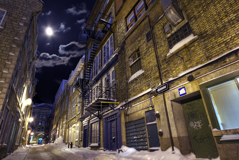 Verlaten Straat stock foto