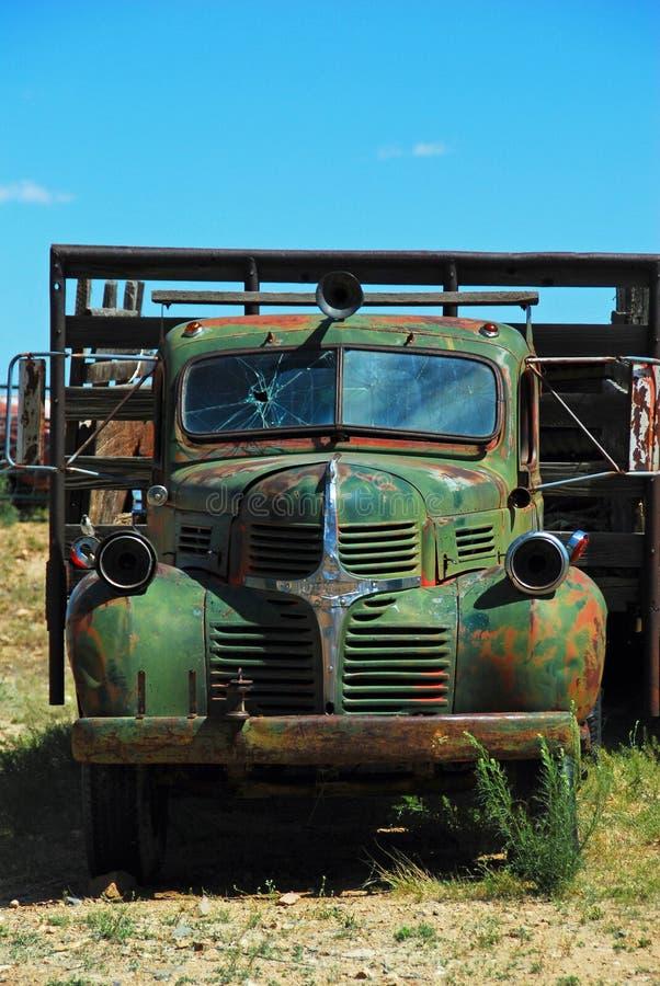 Verlaten Vrachtwagen royalty-vrije stock foto's