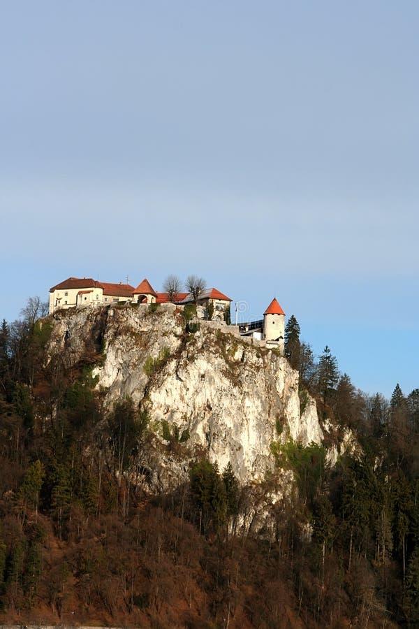 Verlaufen, Slowenien lizenzfreies stockbild