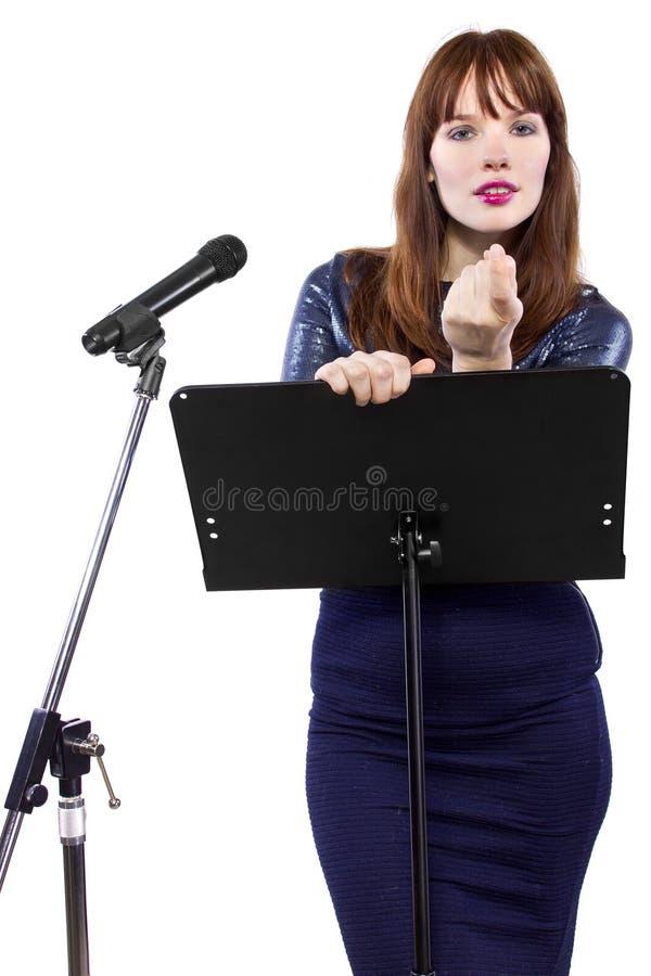 Verleidelijke Presentatie stock afbeelding