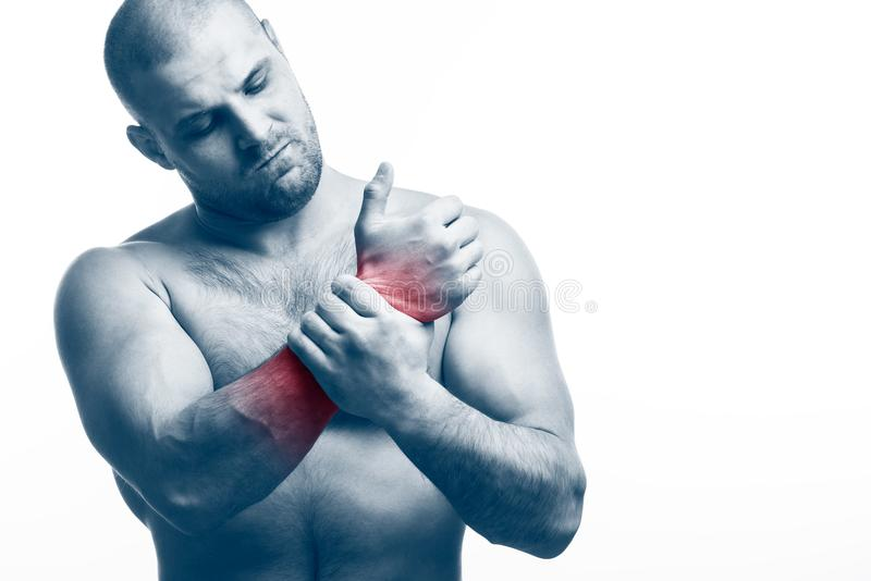 Verletzung der Hand lizenzfreies stockfoto