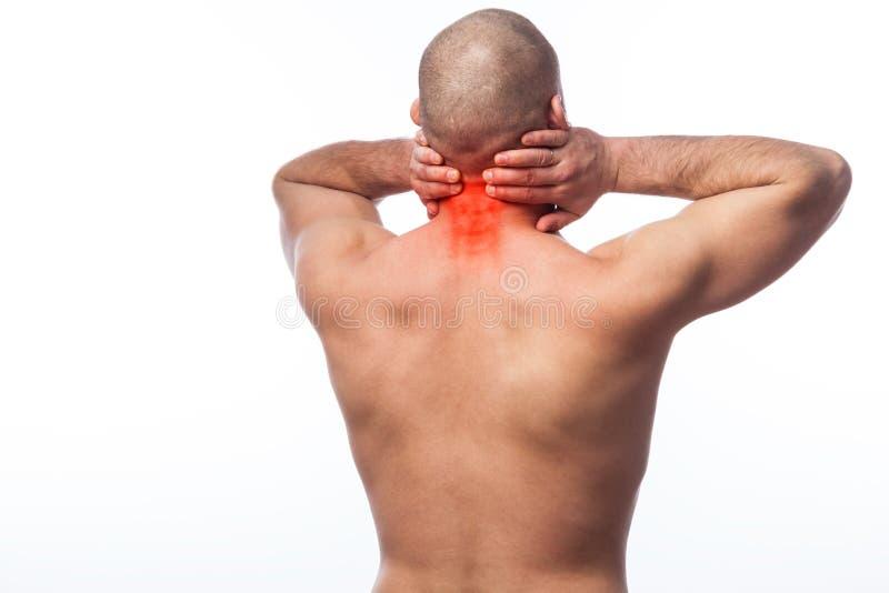 Verletzung des Halses lizenzfreies stockbild