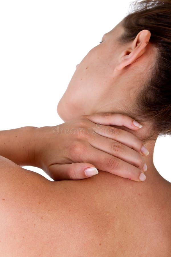 Verletzung des Stutzens und der Schulter lizenzfreie stockfotos