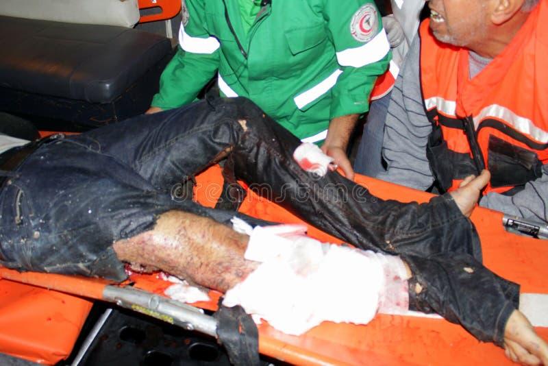 Download Verletzungen in Gaza redaktionelles bild. Bild von israel - 27732455