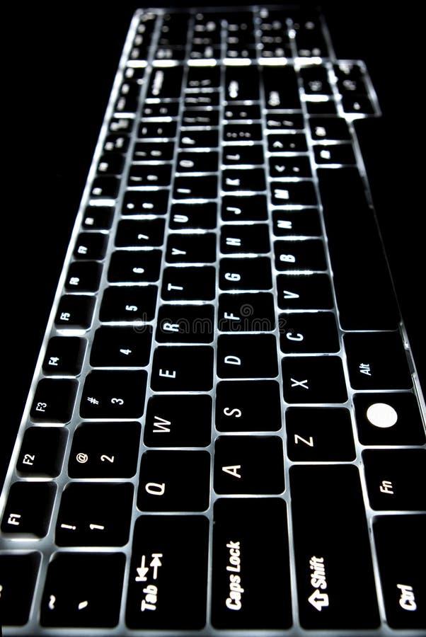 Verlicht toetsenbord stock afbeelding. Afbeelding bestaande uit slot ...