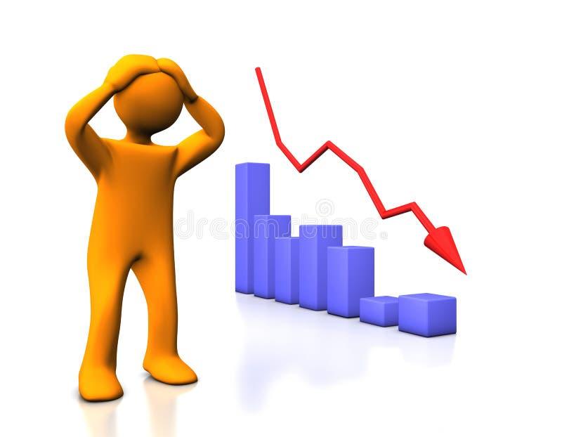 Verlies stock illustratie