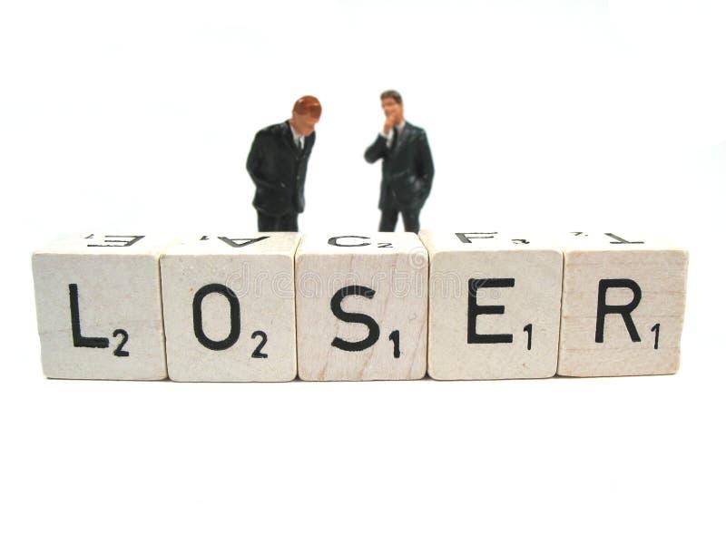 Verliezer stock afbeelding