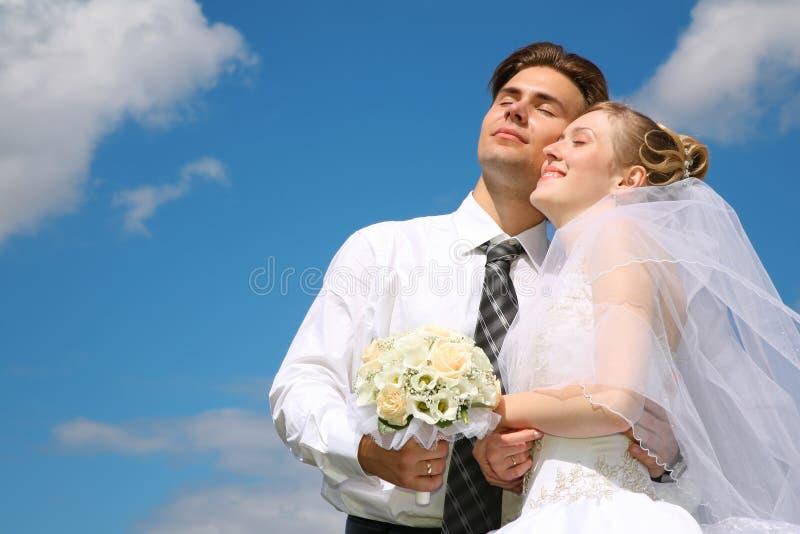 Verlobtes und Braut stockbilder
