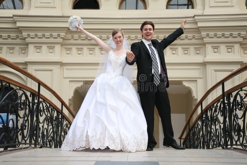 Verlobtes und Braut lizenzfreies stockbild