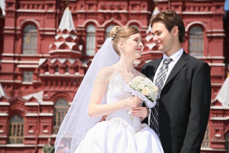 Verlobtes und Braut lizenzfreie stockbilder