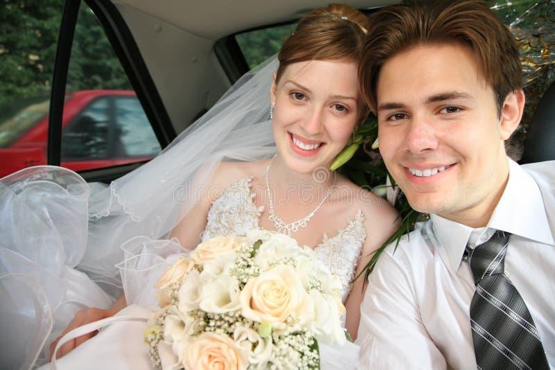 Verlobtes und Braut stockfotografie