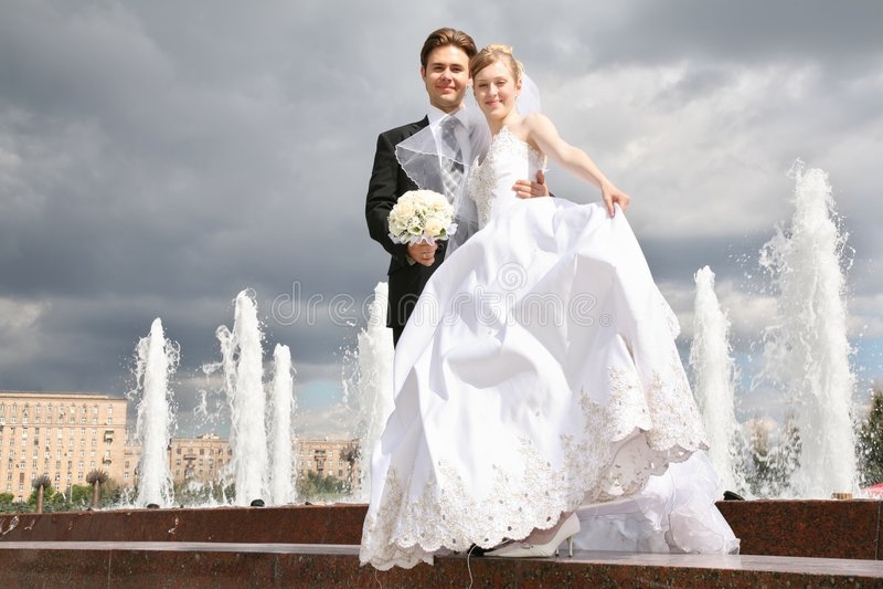 Verlobtes und die Braut stockbilder