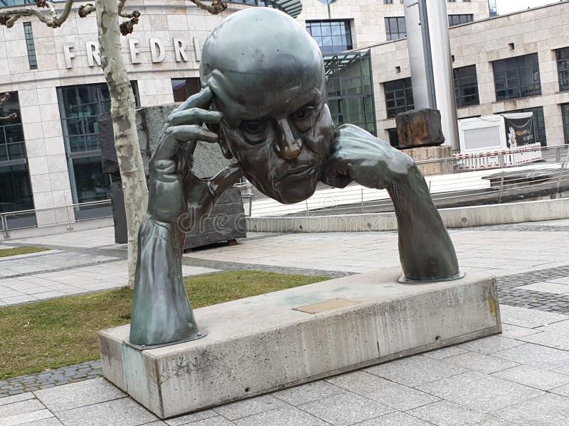 Verloren hoofd, Duitsland stock foto's