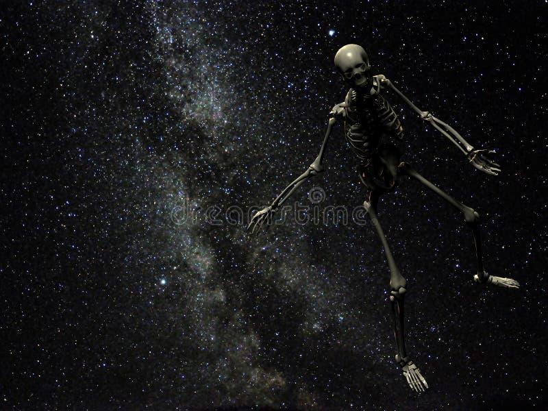 Verloren in ruimte royalty-vrije stock foto's