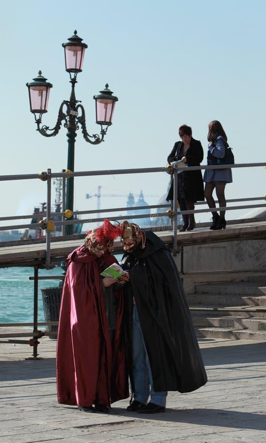 Verloren in Venetië stock fotografie
