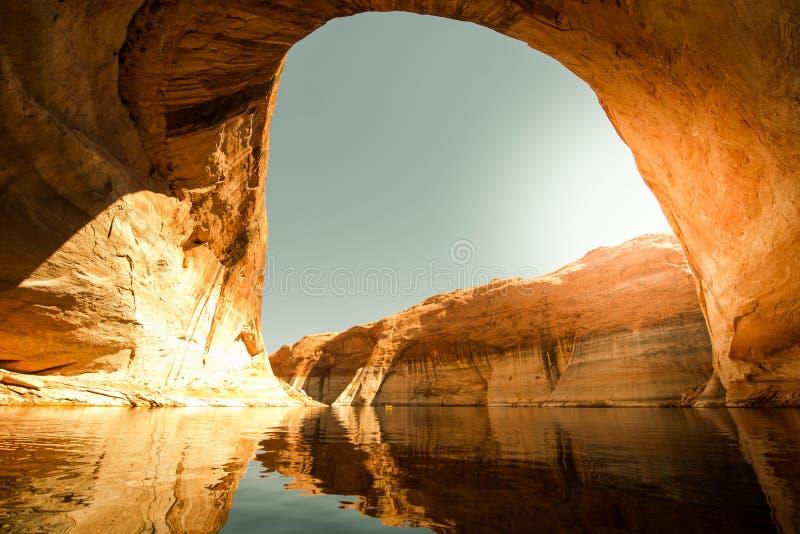 Verlorene Eden Canyon Lake Powell lizenzfreie stockfotos