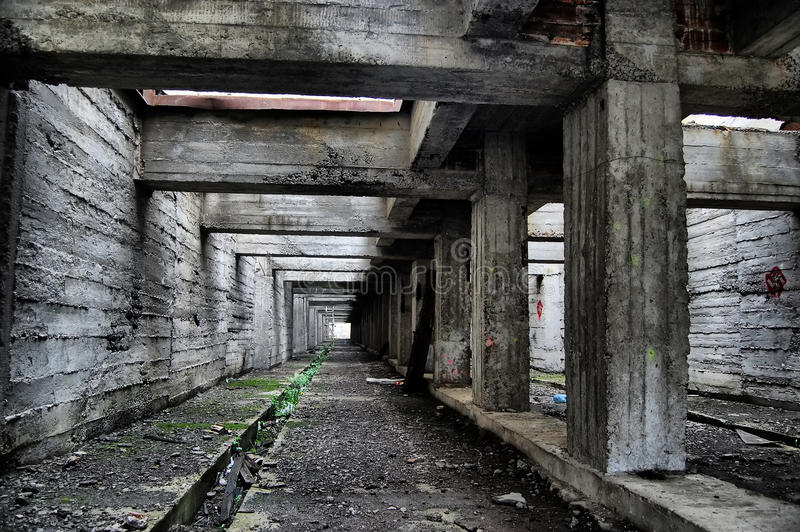 Verlorene Stadt. lizenzfreies stockbild