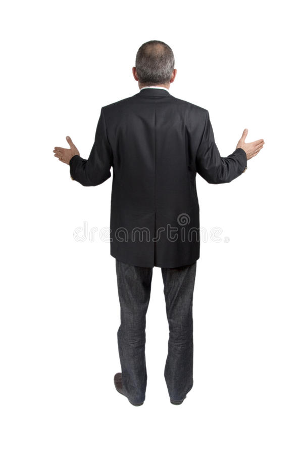 Verlorener Mann stockfoto