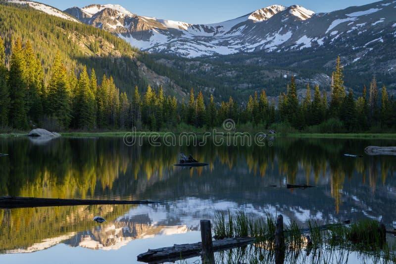 Verlorener See - Colorado lizenzfreie stockfotografie