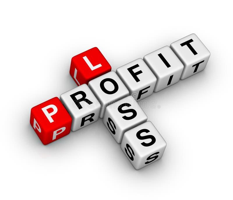 Verlust und Profit vektor abbildung