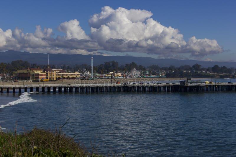 Vermaak in Santa Cruz stock afbeeldingen