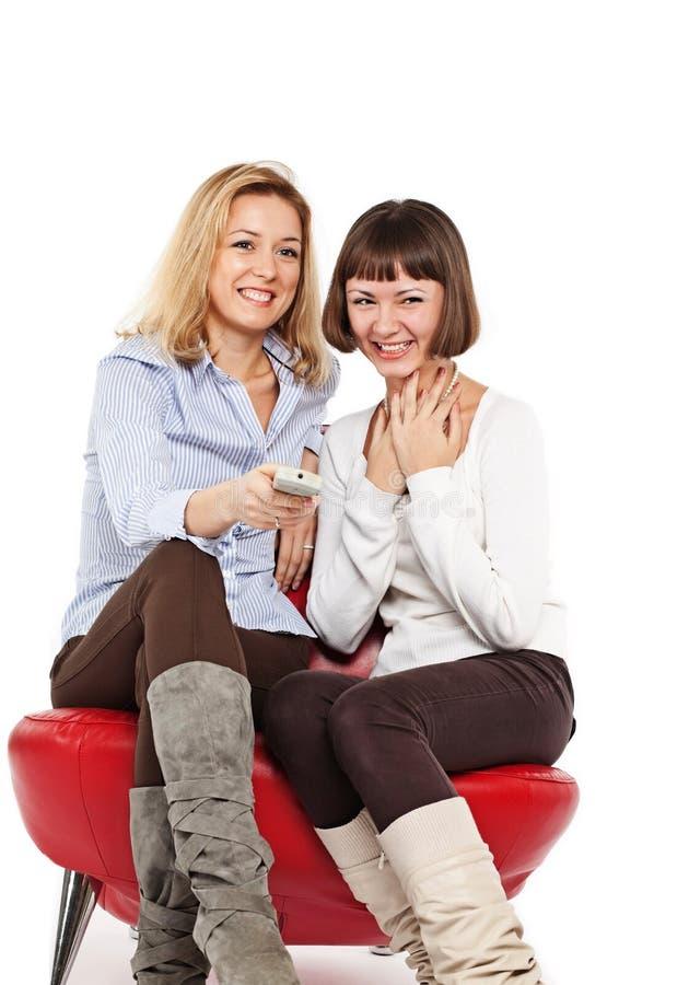 Vermakelijk TV- programma stock fotografie