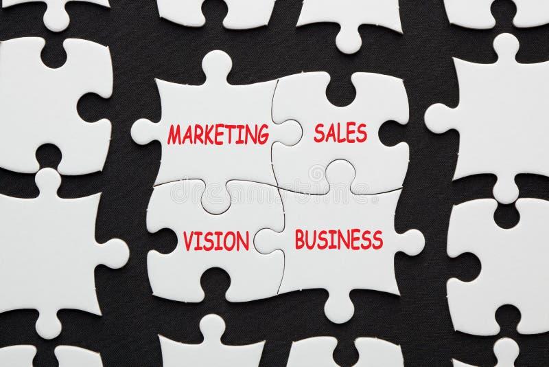 Vermarktendes Verkaufs-Visions-Geschäft stockfoto