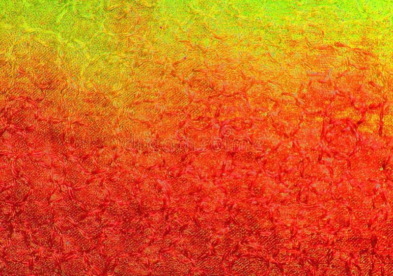 Vermelho abstrato à laranja para amarelar o fundo do teste padrão fotografia de stock royalty free