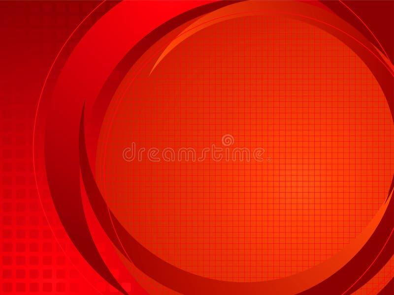 Vermelho baixo técnico ilustração royalty free