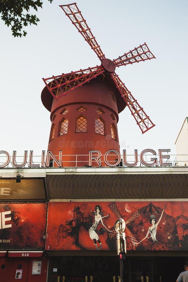Vermelho de Moulin imagem de stock royalty free