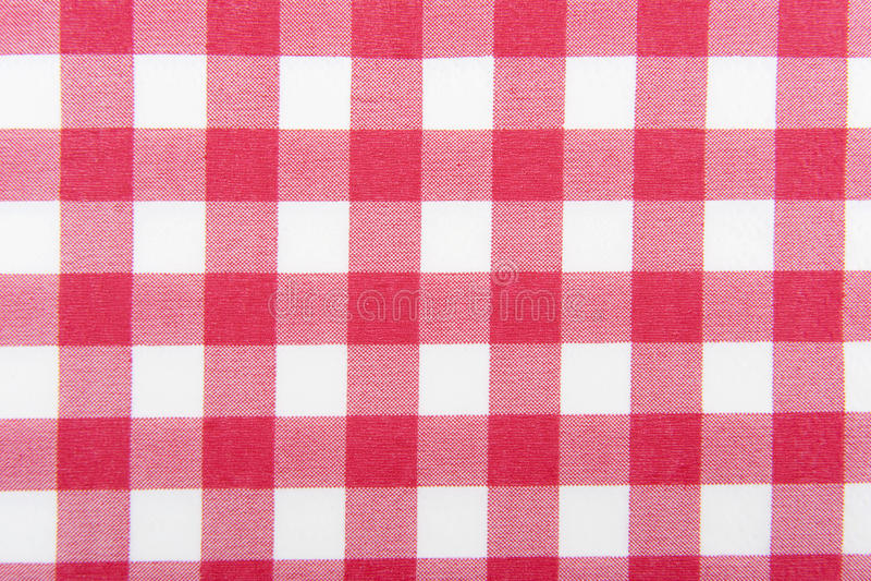 Vermelho e branco checkered fotos de stock royalty free