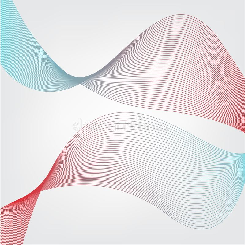 Vermelho e fundo azul do sumário da mistura imagens de stock
