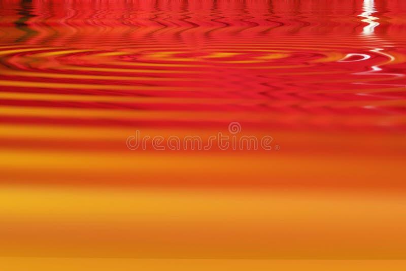 Vermelho, laranja e amarelo fotografia de stock