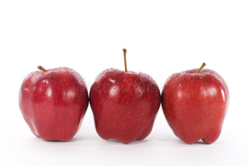 Vermelho - maçãs deliciosas imagens de stock royalty free