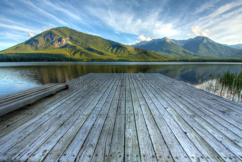 Vermilion озера стоковая фотография rf