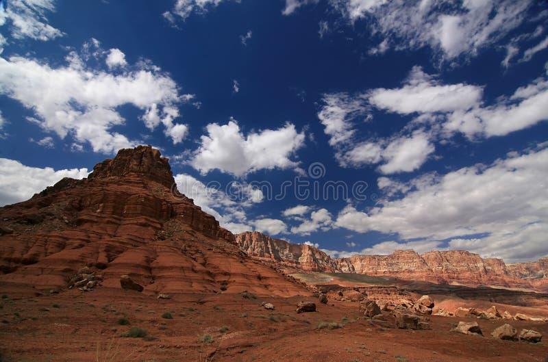 Vermilion скалы Стоковое фото RF