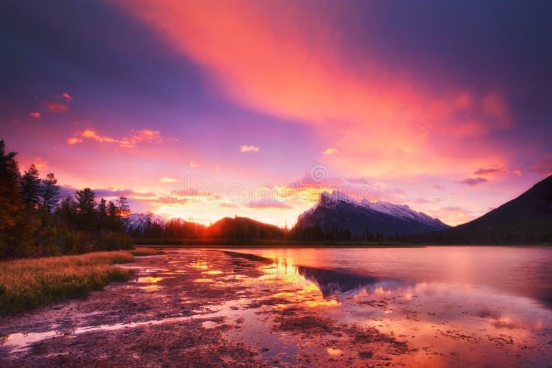 Vermilion jeziora zdjęcia stock