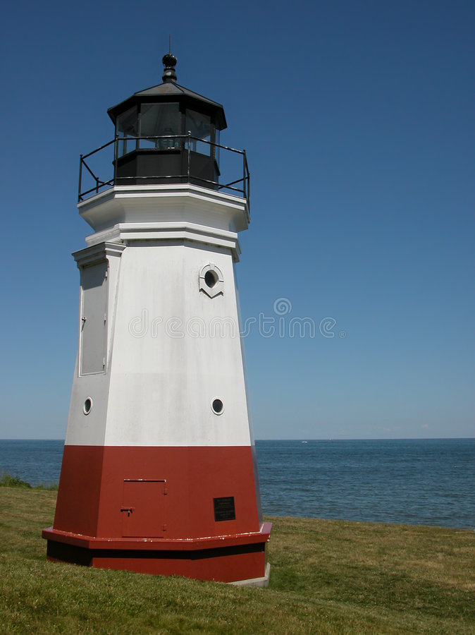 Download Vermilion Lighthouse stock photo. Image of port, nautical - 2708750