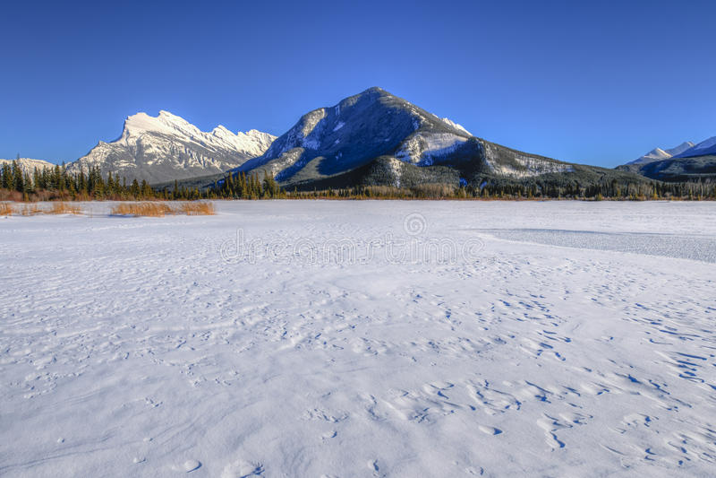 Vermillion λίμνες στοκ εικόνες