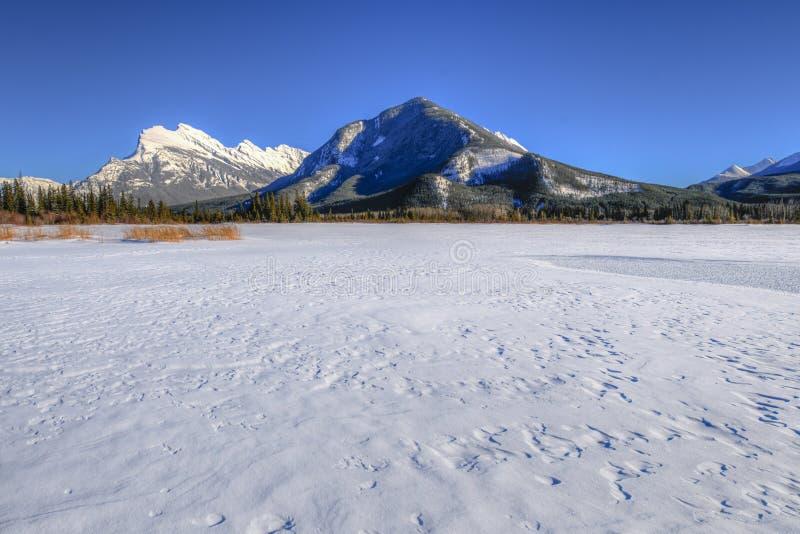 Vermillion jeziora zdjęcie stock