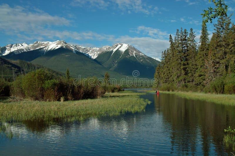 Vermillion Lakes, Banff Alberta Canada.