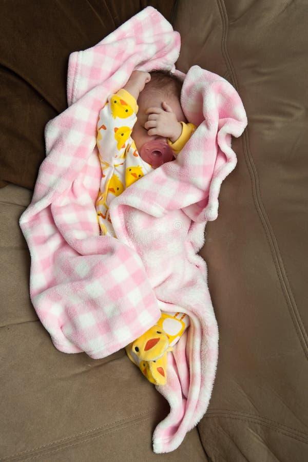 Vermoeide Baby stock afbeeldingen