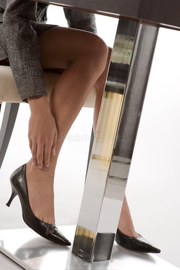 Vermoeide benen stock foto's