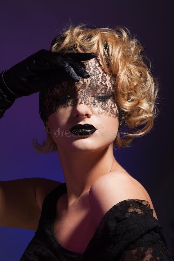 Vermoeide mooie vrouw royalty-vrije stock afbeeldingen