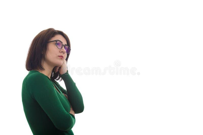 Vermoeide Vrouw stock foto
