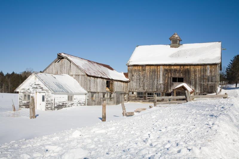 Vermont Barn stock image